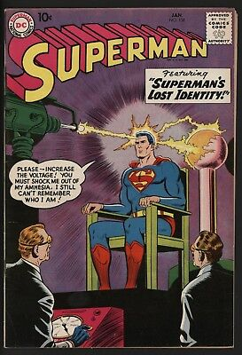 Superman #126 Very Nice Original Owner Copy In High Grade Tough To Find