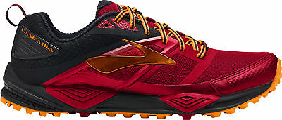 817f4ef880493 BROOKS CASCADIA 12 Mens Running Shoes - Red - EUR 68