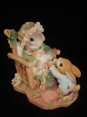 My Blushing Bunnies~The Holidays Join Us Together~Mommy & Baby Bunnies