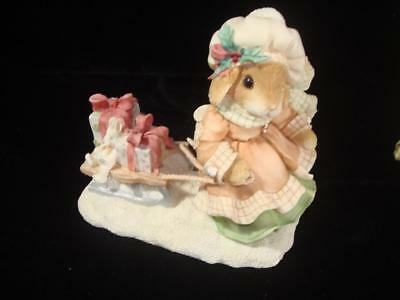 My Blushing Bunnies~The Gift of Friendship is Never Far Behind~w/Box