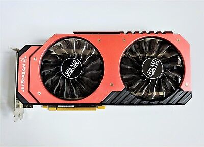 Palit NVIDIA GeForce GTX 980 Super JetStream 4GB 4096MB Grafikkarte GPU OC