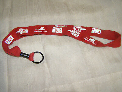 Southwest Airlines Lanyard / Badge Holder Red On The Fly