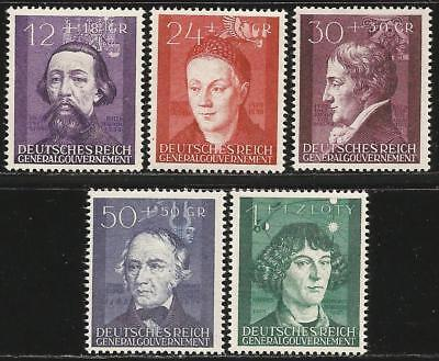 Germany (Third Reich) General-Gouvernement 1942 MNH 3rd Anniv German Occupation