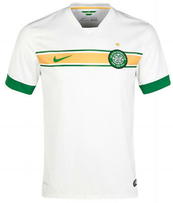 Nike Celtic 3rd 2014/15 Junior Football Shirt - White