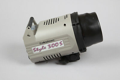 Elinchrom Style 300s Monobloc Flash Head in Very Good Condition