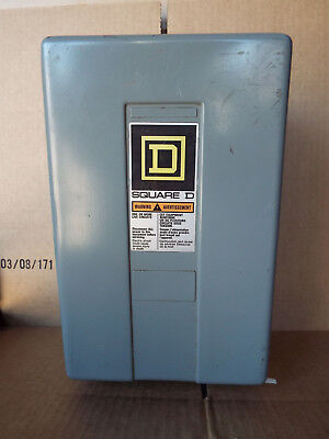 1 Used Square D 8903-Lg40 4-Pole Lighting Contactor ***make Offer***