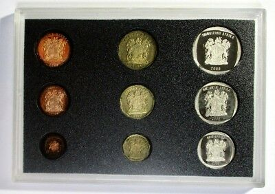 2000 South Africa Proof coin set,south African Mint