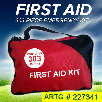 1x 2x 303 Piece Emergency First Aid Kit - A Must Have for Every Family ARTG