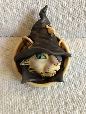Harmony Kingdom Artist Neil Eyre Designs Halloween Pirate Cat Mouse Magnet