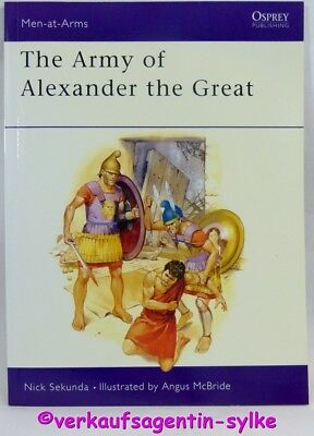 Men-at-Arms 148 Osprey: The Army of Alexander the Great in Englisch, NEU