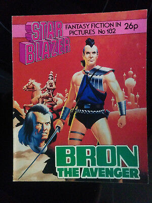 "Starblazer #182 ""BRON THE AVENGER"" published by DC Thomson"