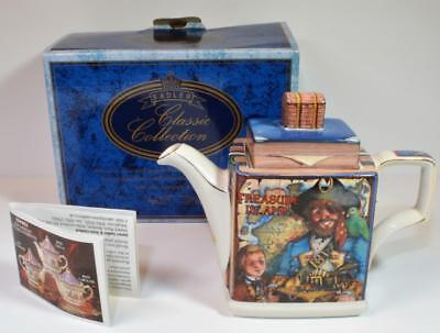 "New Original Box SADLER England Classic Collection TREASURE ISLAND 6 1/2"" Teapot"