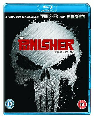 The Punisher + War Zone Collection (Blu-ray, 2 Discs, Region Free) *NEW/SEALED*