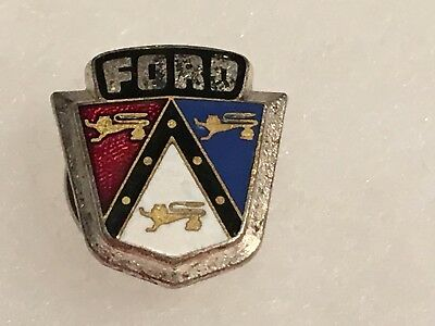 Vintage Ford  Emblem Lapel Pin with Locking Back