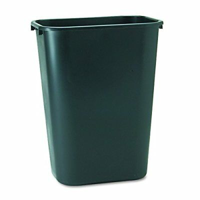 Rubbermaid Commercial 2957 10-Gallon Deskside Large Trash Can, Rectangular, 11""