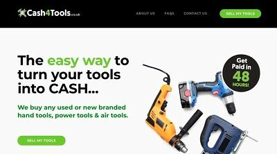 Cash4Tools.co.uk - The easy way to turn your tools into CASH - Take a Look!