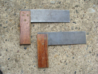 Lot of 2 Vintage Collectible Woodworking Tools Corners