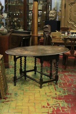 Table To Gate, Wood Oak, England Period End '800 Beginning '900 (2)