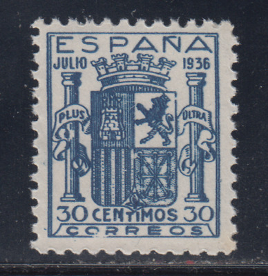 Spain (1936) New Free Stamp Hinges Mnh Spain - Edifil 801 False