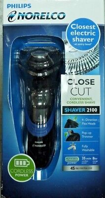 Philips Norelco Electric Shaver 5100 Wet and Dry w/ Precision Trimmer, S5210/81