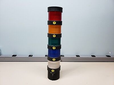 Telemecanique Stack Light Signal Tower Red/Amber/Green/Blue/White