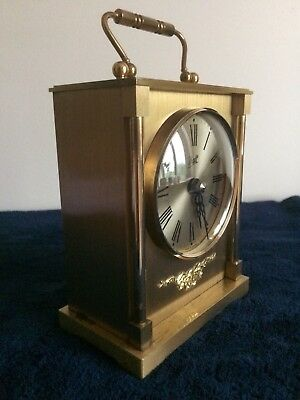 Quartz Carriage Clock By Makers Walt Of Germany.