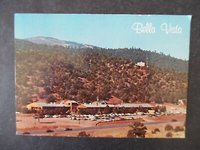 1970s East of Albuquerque Cedar Crest New Mexico Bella Vista Restaurant Postcard