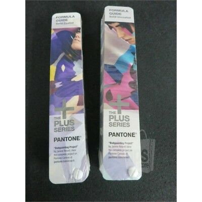 Pantone The Plus Series Formula Guide Solid Coated & Solid Uncoated