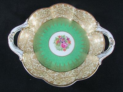 Hand Painted Crescent China Biscuit Dish by George Jones & Sons c.1925