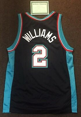 dac4ceb7f41 ... where can i buy jason williams autographed signed basketball jersey sz  40 memphis grizzly w coa