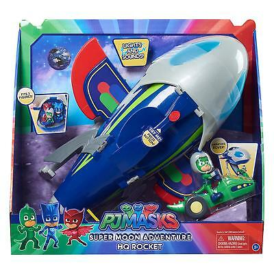 Pj Masks Pyjamasques Hq Rocket Moon Adventure