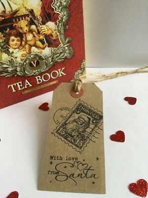 10 Love From Santa Christmas Gift Tags  - North Pole Special Delivery Handmade