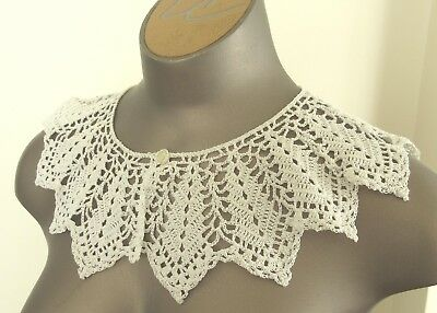 Antique Victorian/Edwardian Lace Collar -12