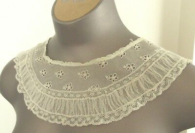 Antique Victorian/Edwardian Lace Collar -15