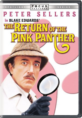 SELLERS,PETER-Return Of The Pink Panther DVD NEW