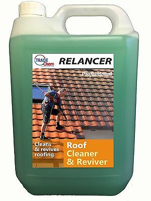 RELANCER Roof Cleaner and Reviver 5L Container TRADE CHEMICALS