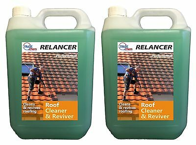 RELANCER Roof Cleaner and Reviver 10L Container TRADE CHEMICALS