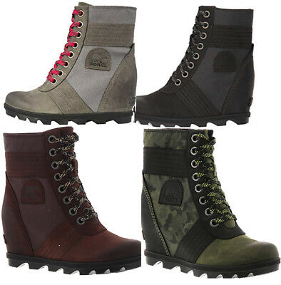 722982344104 NEW SOREL WOMEN S Lexie Wedge Boot Platform Premium Waterproof