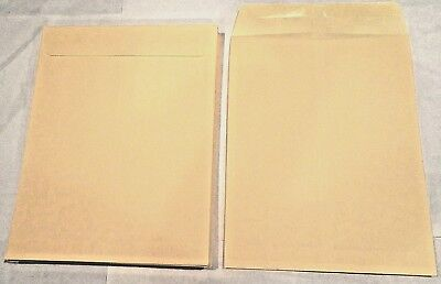 *50* 10X13 Manila Kraft Catalog Shipping Mailers Envelopes W/ Gummed Closure