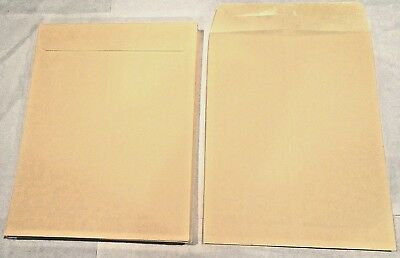*10* 10 X 13 Manila Kraft Catalog Shipping Mailers Envelopes W/ Gummed Closure