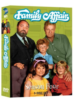 Family Affair: Season 4 (5Pc) Dvd New