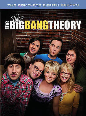 The Big Bang Theory: The Complete Eighth Season (DVD, 2015) New, Free Shipping