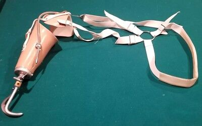 Dorrance Prosthetic Arm  W/ Hook Claw Grasp Hand * Work Great * Free Shipping**