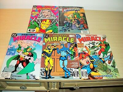 DC Mister Miracle Comic Book Lot 5 7 8 12 17