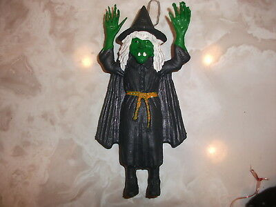 Halloween Rubber Witch Jiggler Toy