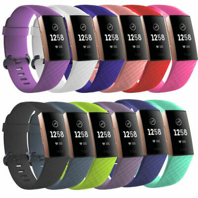 UK Replacement Smart Watch Bands Strap Bracelet Wrist Band For Fitbit Charge 3