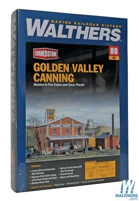 Walthers Cornerstone Golden Valley Canning Company building kit. Inc  Delivery