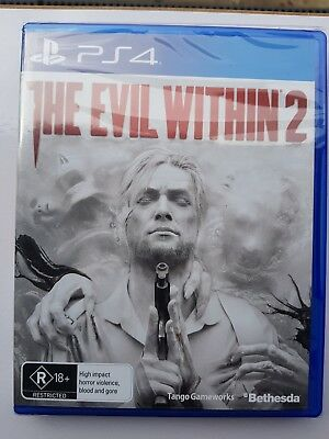 The Evil Within 2 PS4 Playstation 4 Game Brand New In Stock
