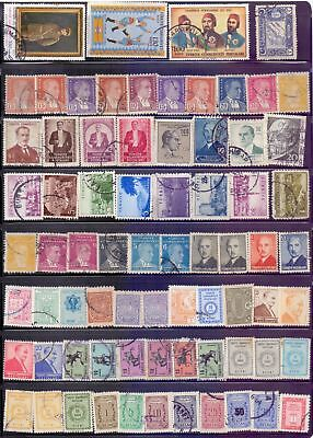 Turkey  Selection of 190, mostly used stamps.