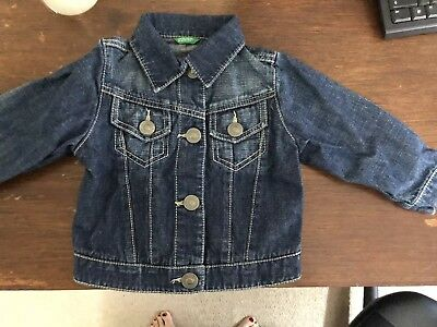 Children's Denim Jacket Benetton
